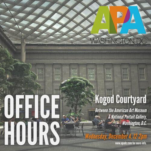 APA DC Presents Coffee With Us!