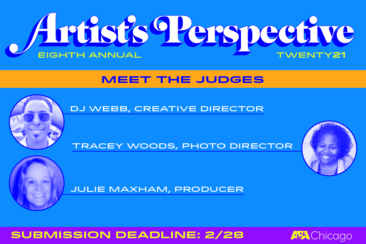 Artist's Perspective Call for Entries Branding
