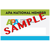 APA National ID Card Options for Members