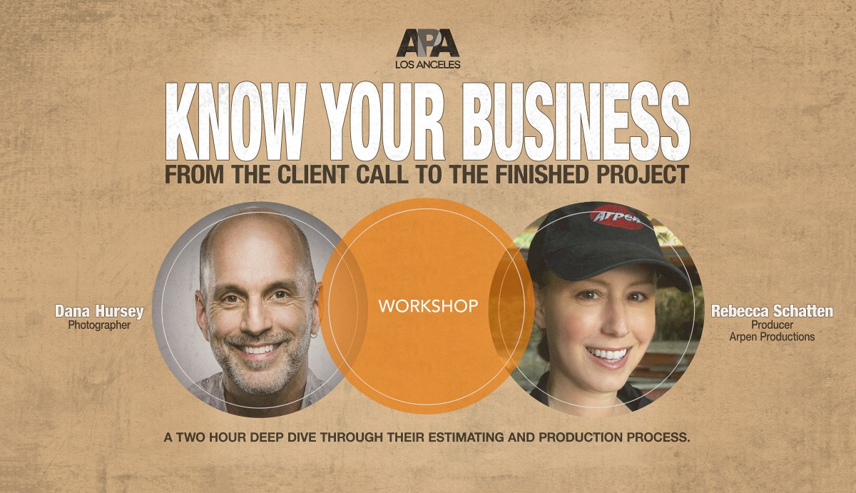 APA LA Know Your Business: From The Client Call to The Finished Project