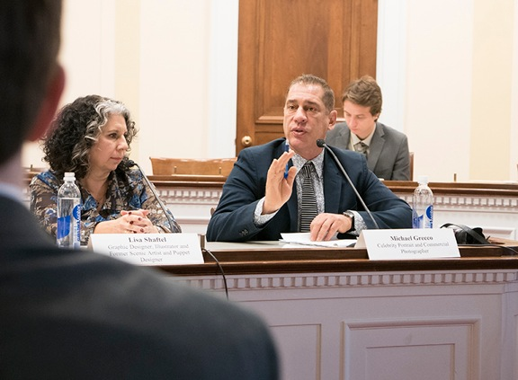 House Judiciary committee reviews Copyright