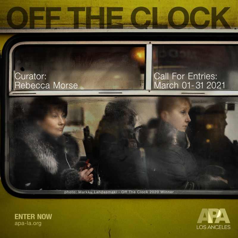 APA LA Off The Clock 2021 - Call for Entries Now Open