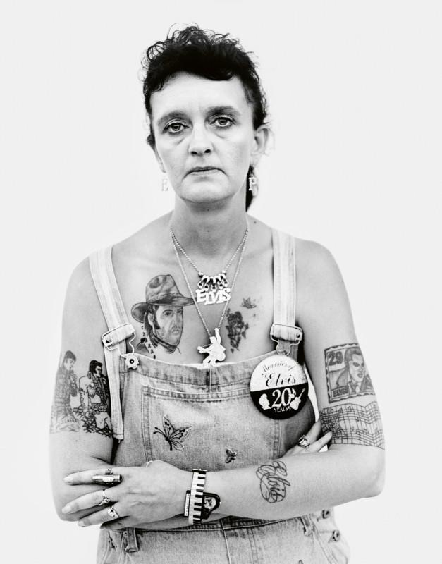 Elvis Fan, Memphis, TN ©Donald Graham