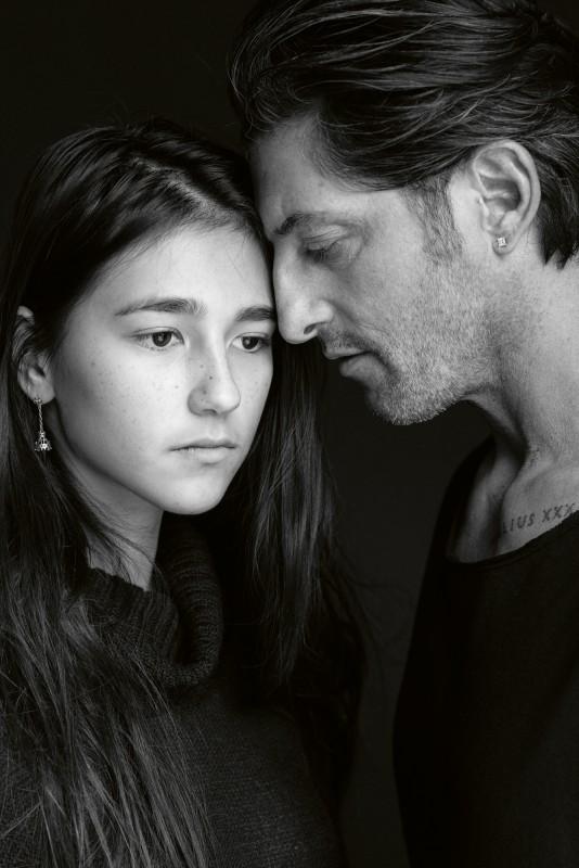 Tony Ward and His Daughter, Los Angeles, CA ©Donald Graham