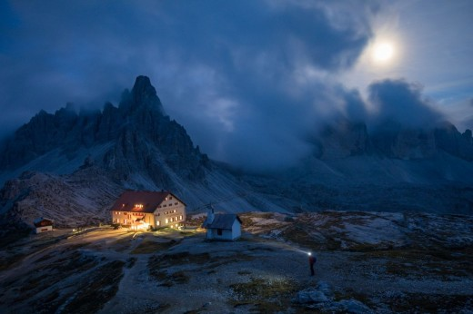 Mountain Hut in the Dolomites. © Tracy + David.