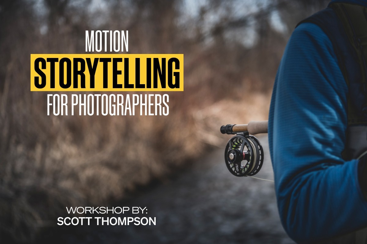 Scott Thompson leads the workshop Motion for Photographers
